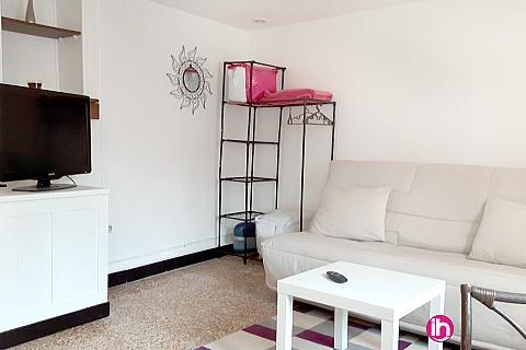 Location pour salarié en déplacement de meublé : BELLEVILLE/CHATILLON SUR LOIRE petite maison F2 pour 1 personne à 5km de Belleville