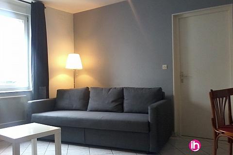 Location pour salarié en déplacement de meublé : THIONVILLE CATTENOM Appartement type F2 pour 1-2-3pers. a Garche a 5 mn de la Centrale