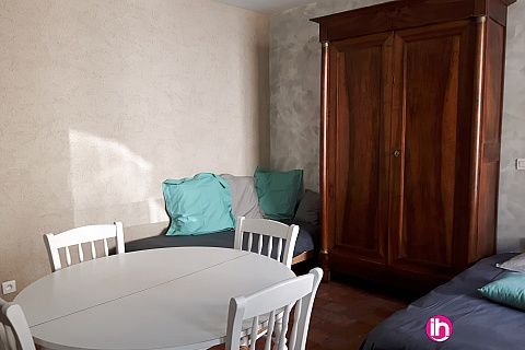 Location de meublé : STUDIO INDEPENDANT ENTIEREMENT RENOVE PROCHE CENTRALES EDF