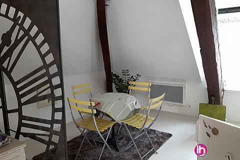 Location de meublé : BELLEVILLE DAMPIERRE BRIARE Très beau studio meublé entre Belleville et Dampierre