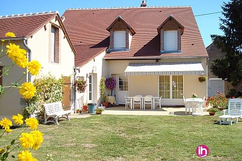 Location pour salarié en déplacement de meublé : DAMPIERRE BELLEVILLE,  GITE LA BLOUETTIERE, Saint Firmin sur Loire