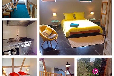 Location de meublé : FESSENHEIM, MULHOUSE, BELFORT, Le Loft de Rose
