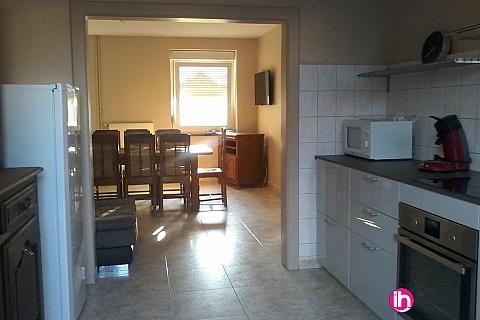 Location de meublé : THIONVILLE CATTENOM Maison Village 6 CH jusqu'à 8 personnes proche Frontiere Luxembourg 5 minutes de la Centrale