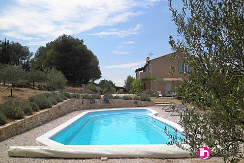 Location pour salarié en déplacement de meublé : Aix en provence, Villa individuelle en campagne aixoise, Meyrargues