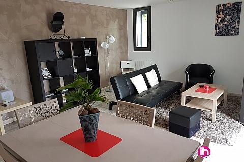 Location pour salarié en déplacement de meublé : CRUAS TRICASTIN Appartement avec terrasse et parking, POUZIN