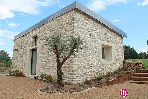 Location de meublé : Vannes, La Baule, Maison en pierre rénovée barrage Arzal
