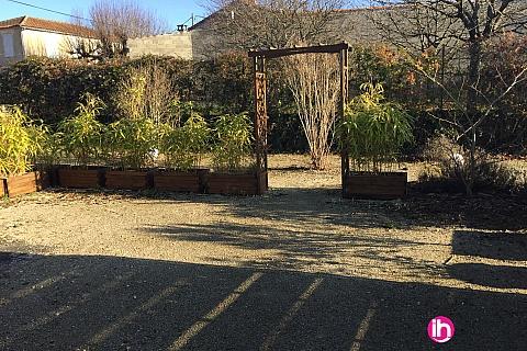 Location de meublé : Angoulème, Maison mitoyenne - 1 chambre, Villejoubert, Ruffec