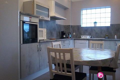 Location pour salarié en déplacement de meublé : THIONVILLE CATTENOM Appartement type F3 pour 1a 4 pers. a RICHEMONT  20 mn de Cattenom