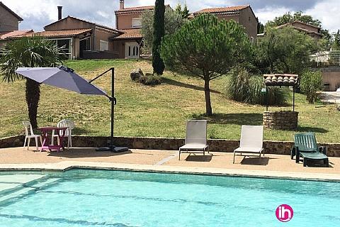 Location pour salarié en déplacement de meublé : SAINT ALBAN - Chambre confort au calme- Saint-Michel-Sur-Rhône