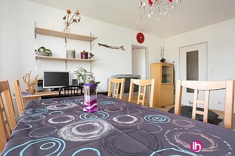 Location pour salarié en déplacement de meublé : FESSENHEIM, COLMAR, F3 entièrement meublé et équipé