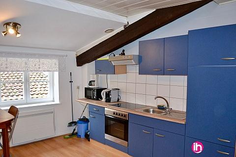 Location pour salarié en déplacement de meublé : CATTENOM T2  Meublé à 5mm du Luxembourg, Sierck les bains