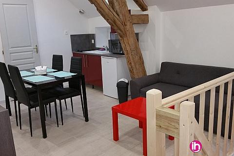 Location de meublé : BELLEVILLE DAMPIERRE APPARTEMENT T3 à St Firmin sur loire