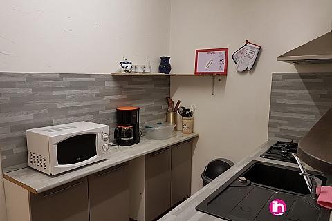 Location pour salarié en déplacement de meublé : DONZERE CRUAS Appartement T2 centre ville de Donzere