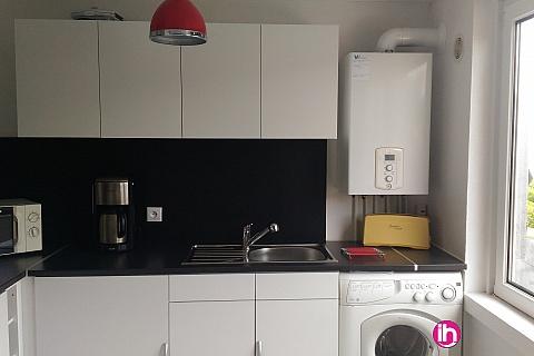 Location de meublé : Appartement 50m² pour 1 à 2 personnes Yutz proche CATTENOM
