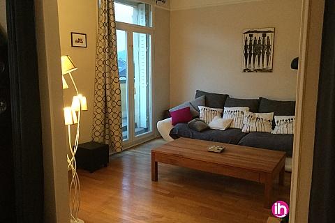 Location de meublé : CATTENOM LUXEMBOURG Tres bel appartement 3 chambres avec balcon THIONVILLE