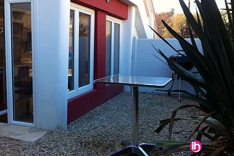Location de meublé : CRUAS TRICASTIN Appartement 2 pièces tout confort, le teil