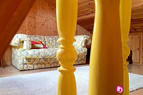 Location pour salarié en déplacement de meublé : BELLEVILLE COSNES/LOIRE Maison meublée 3-6 personnes à 4km de Belleville