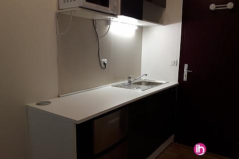 Location pour salarié en déplacement de meublé : Dampierre Belleville sur Loire Appartement T2 109 Gien
