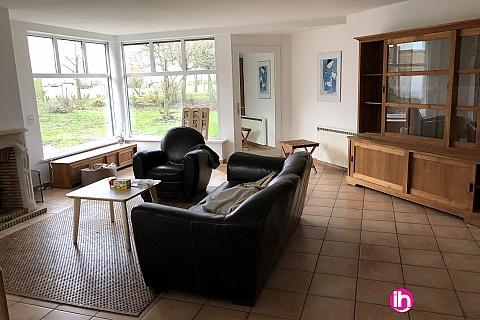 Location pour salarié en déplacement de meublé : Lille maison située en campagne à 500 m de Verlinghem, terrain 1200 m2, verlinghem