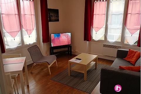 Location pour salarié en déplacement de meublé : DAMPIERRE GIEN appartement T2 spacieux à Gien