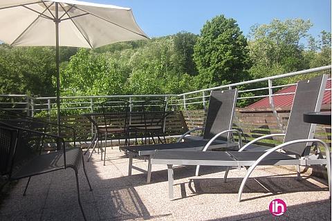 Location pour salarié en déplacement de meublé : FESSENHEIM - COLMAR T3  Au calme à 5 minutes de Colmar