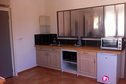 Location de meublé : CRUAS TRICASTIN appartement 1 chambres refait à neuf