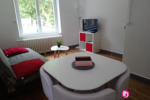 Location pour salarié en déplacement de meublé : DAMPIERRE GIEN APPARTEMENT TYPE T3