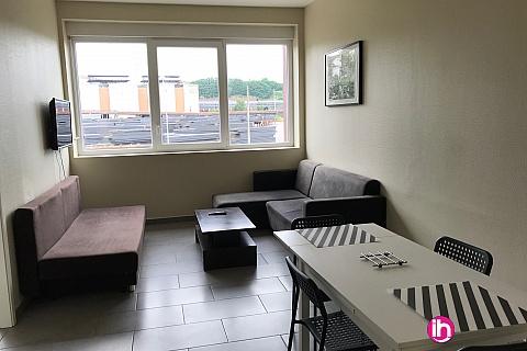 Location pour salarié en déplacement de meublé : CATTENOM THIONVILLE Appartement T2 N° 10 pour 1 à 2 personnes à 15 min Thionville