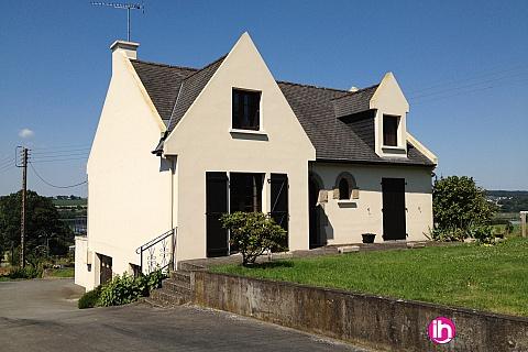 Location pour salarié en déplacement de meublé : RENNES Maison de 80 m2 - Vue sur le Barrage de la Cantache
