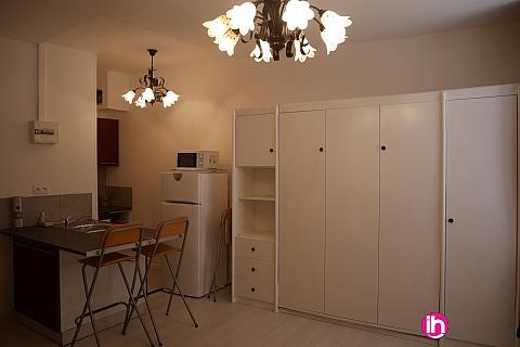 Location de meublé : TRICASTIN MARCOULE CHARMANT STUDIO MEUBLE CENTRE PONT SAINT ESPRIT