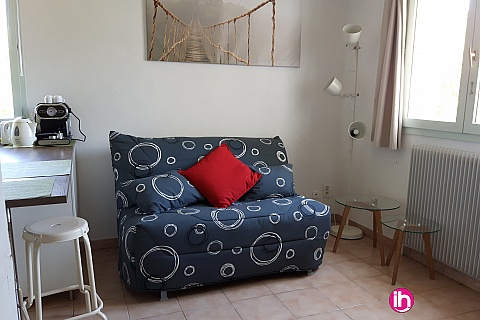 Location de meublé : BELLEVILLE DAMPIERRE à 5 min de Belleville Grand studio 4 couchages  à Beaulieu sur Loire