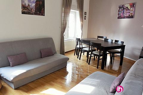 Location de meublé : COLMAR  Appartement en duplex 3 chambres + 1 parking privé
