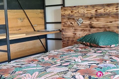 Location de meublé : VALENCE, a 10 mm, Maison La Suite les Robins à Chateauneuf sur Isere