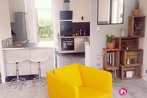 Location pour salarié en déplacement de meublé : DAMPIERRE SULLY SUR LOIRE Maison de ville entièrement rénovee  - 2 pers