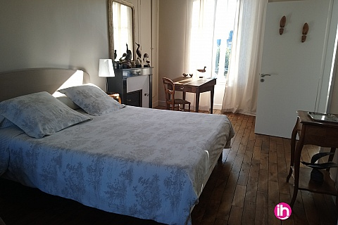 Location de meublé : BELLEVILLE Bléneau chambre de standing