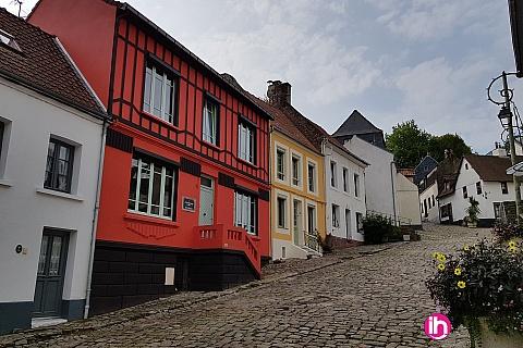 Location pour salarié en déplacement de meublé : LE TOUQUET, MONTREUIL, Gite L'Art du Temps le Gite 1 à 6 pers à Montreuil sur mer