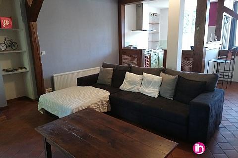 Location pour salarié en déplacement de meublé : BELLEVILLE, DAMPIERRE MAISON 4 CHAMBRES SAINT FIRMIN SUR LOIRE
