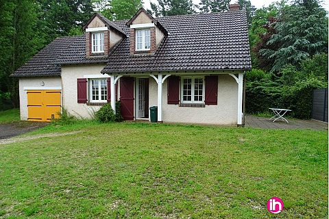 Location de meublé : Maison F6 12km de Belleville- 26km de la centrale de Dampierre