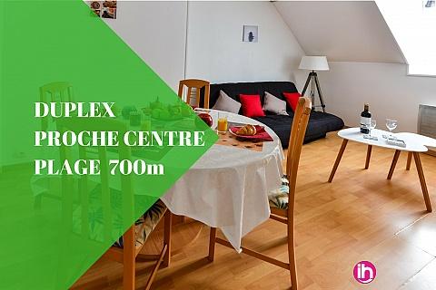 Location pour salarié en déplacement de meublé : ☆ Duplex du Pollet ☆ 500 mètres centre Dieppe ☆