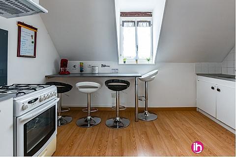 Location pour salarié en déplacement de meublé : PENLY, PALUEL, DIEPPE,  Duplex du Pollet  500 mètres centre Dieppe