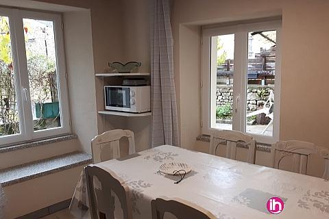 Location pour salarié en déplacement de meublé : CIVAUX Gîte de la veille maison à Gouex