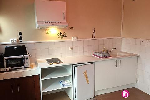 Location pour salarié en déplacement de meublé : Appartement F2 pour 1-3 personnes  N°2 à Montmorillon 16km de Civaux