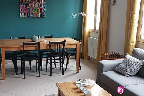 Location de meublé : CIVAUX CHAUVIGNY Le Gîte CASA TALBAT - 85m2- 6 pers maximum