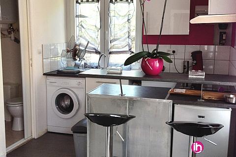 Location pour salarié en déplacement de meublé : Appartement F2 meublé entre Belleville et Dampierre