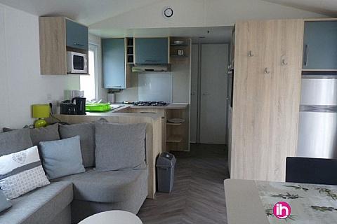 Location pour salarié en déplacement de meublé : SAINT JEAN DE MONT MOBILE-HOME HAUT DE GAMME