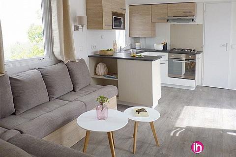 Location pour salarié en déplacement de meublé : QUIBERON - MOBILE-HOME HAUT DE GAMME