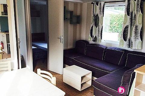 Location pour salarié en déplacement de meublé : CANET EN ROUSILLON  - MOBILE-HOME HAUT DE GAMME