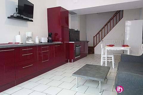 Location de meublé : BRIARE maison de type t3 bis