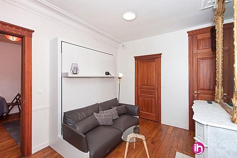 Location de meublé : PARIS 16ème, Studio Luxe, Rue de La Tour, Paris 16ème