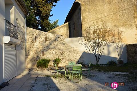 Location de meublé : TRICASTIN BOLLENE PIERRELATTE Maison entièrement rénovée T3 avec Jardin Pierrelatte
